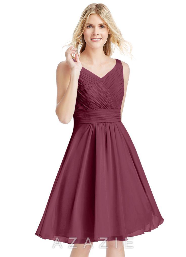 Grace Bridesmaid Dresses  Altrosa Brautjungfernkleider