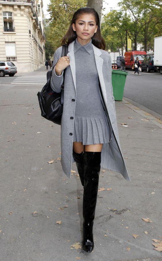 Graue Kleidung Für Frauen  Graue Kleidung Kleidung Für