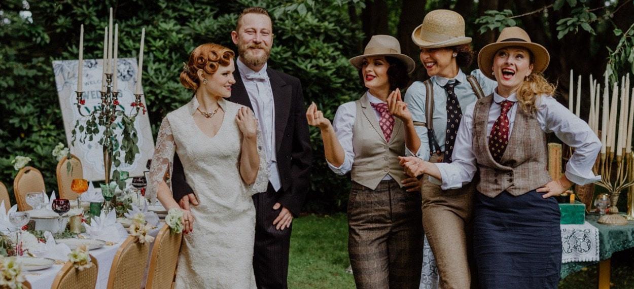 Great Gatsby Hochzeit In Der Hochzeitslocation Villa