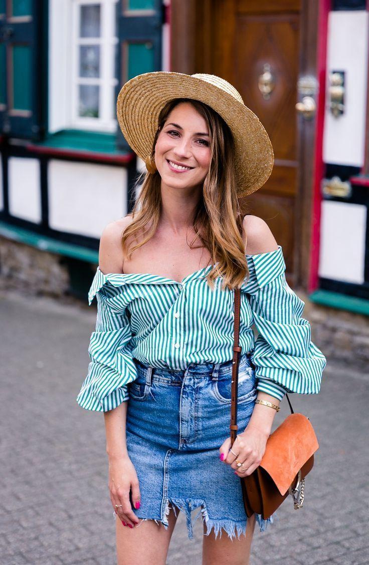Green Stripes Mit Bildern  Schicke Kleidung