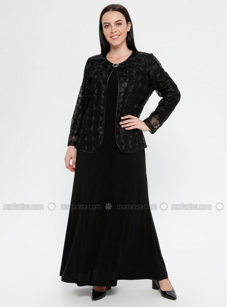 Großartig Modanisa Abend Kleider Vertrieb  Abendkleid