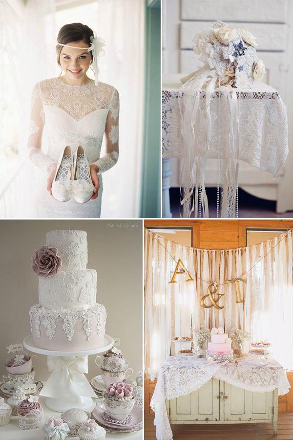 Großartige Vintage Hochzeit Mit Dekorierten Federn