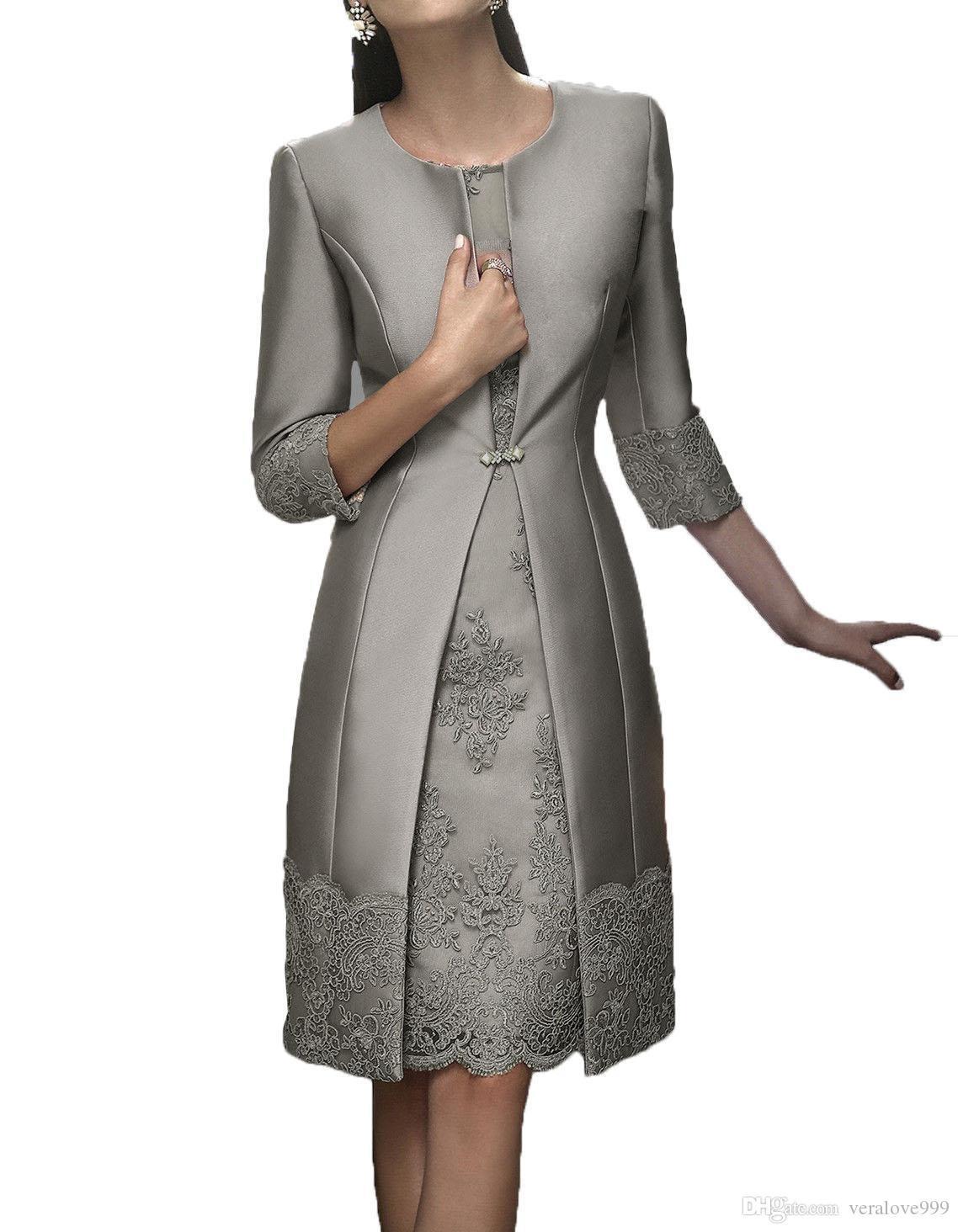 Großhandel Elegante Hülle Kurz Mutter Formelle Kleidung