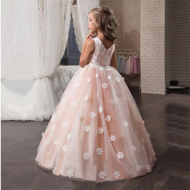 Großhandel Kinder Kleider Für Mädchen Prinzessin Hochzeit