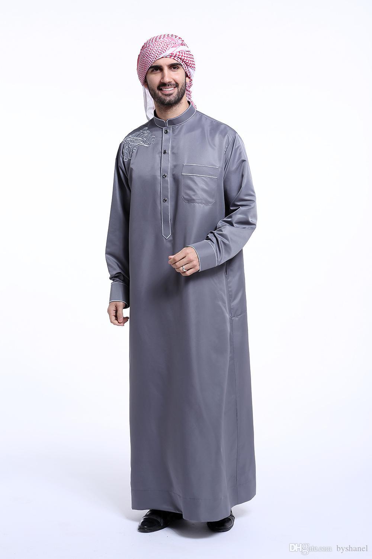 Großhandel Shanel Männer Saudi Thobe Islamische
