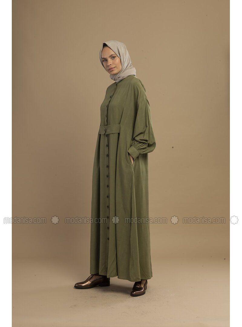 Grün  Hijab Kleid In 2020  Hijab Kleid Grünes Kleid