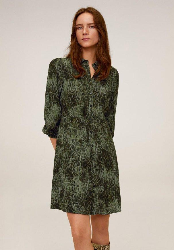 Grüne Blusenkleid  Shoppe Den Evergreen Der Mode Online