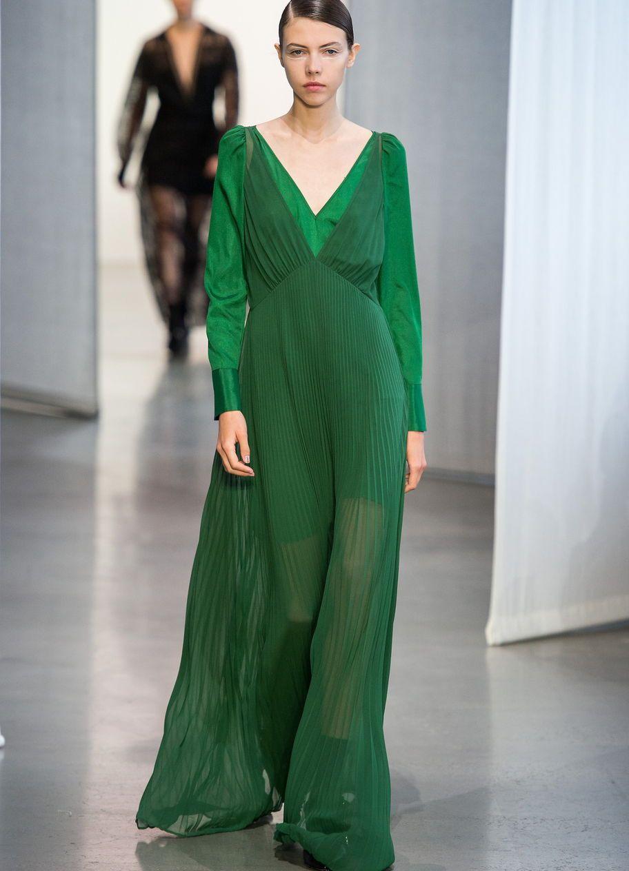 Grüne Maxikleider Der Kleidertrend Für Sommer 2019  New