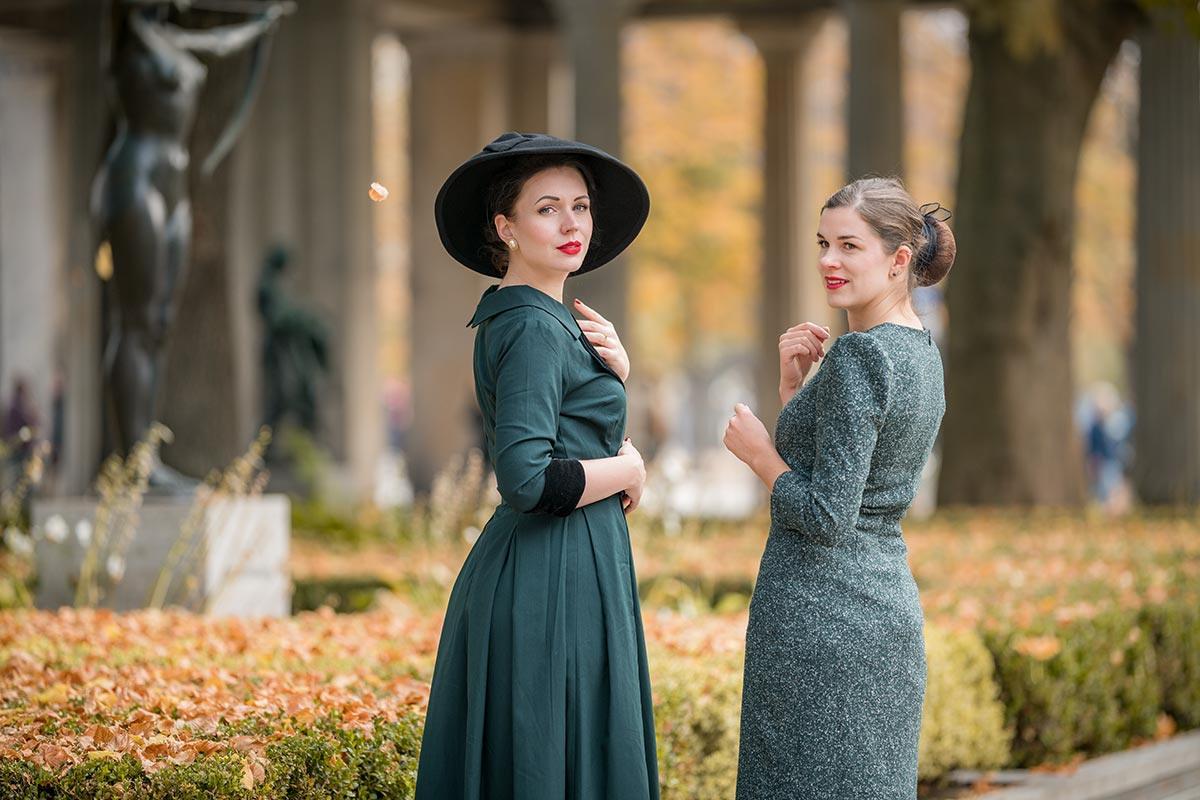 Grünes Kleid  Tipps Die Im Herbst Für Gute Laune Sorgen