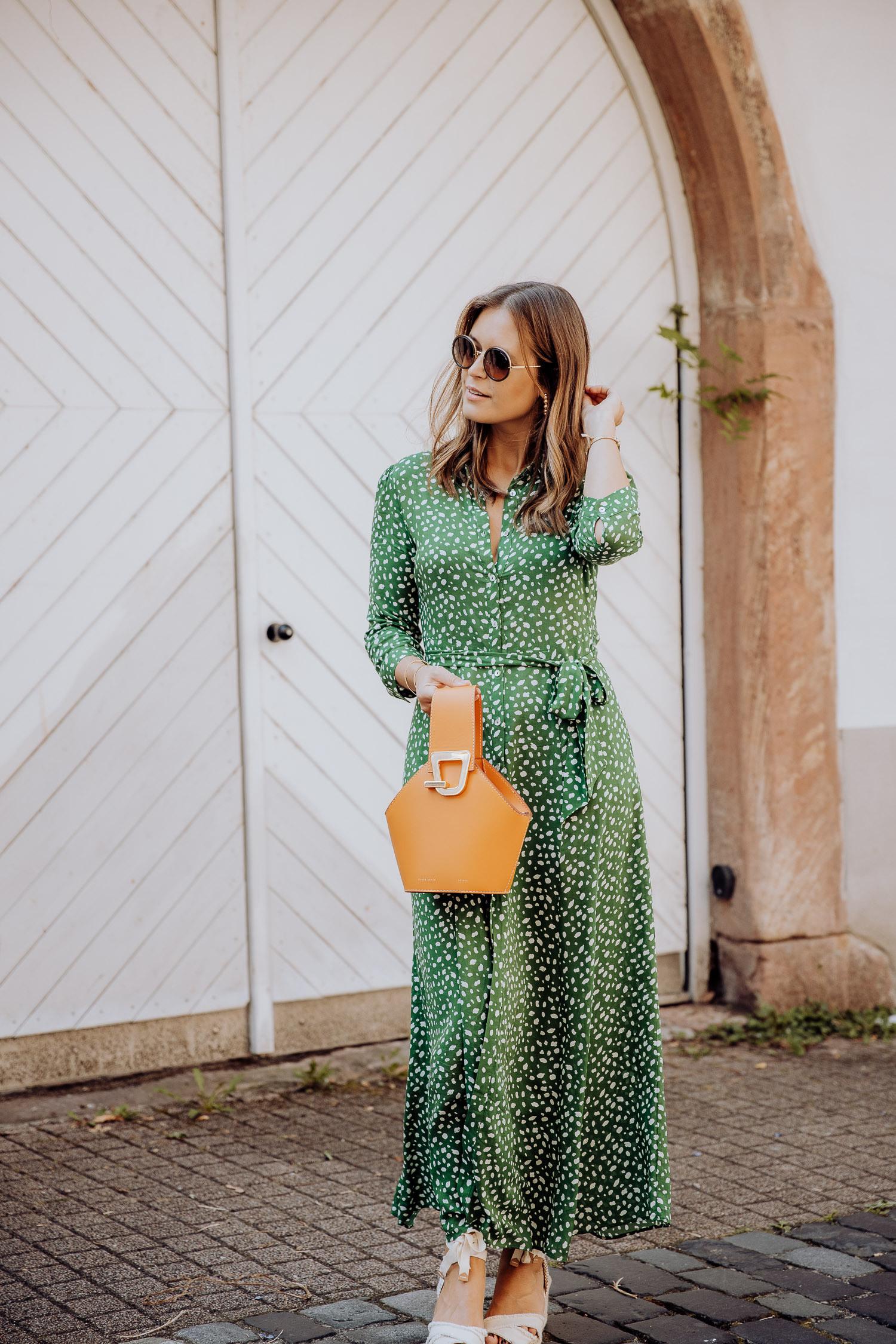 Grünes Zara Kleid6  Josie Loves