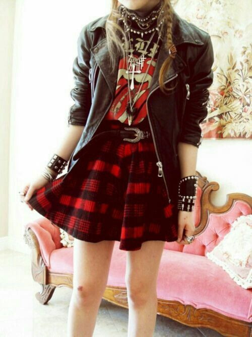 Grunge Fashion …  Mode Outfits Kleidung Und Mode