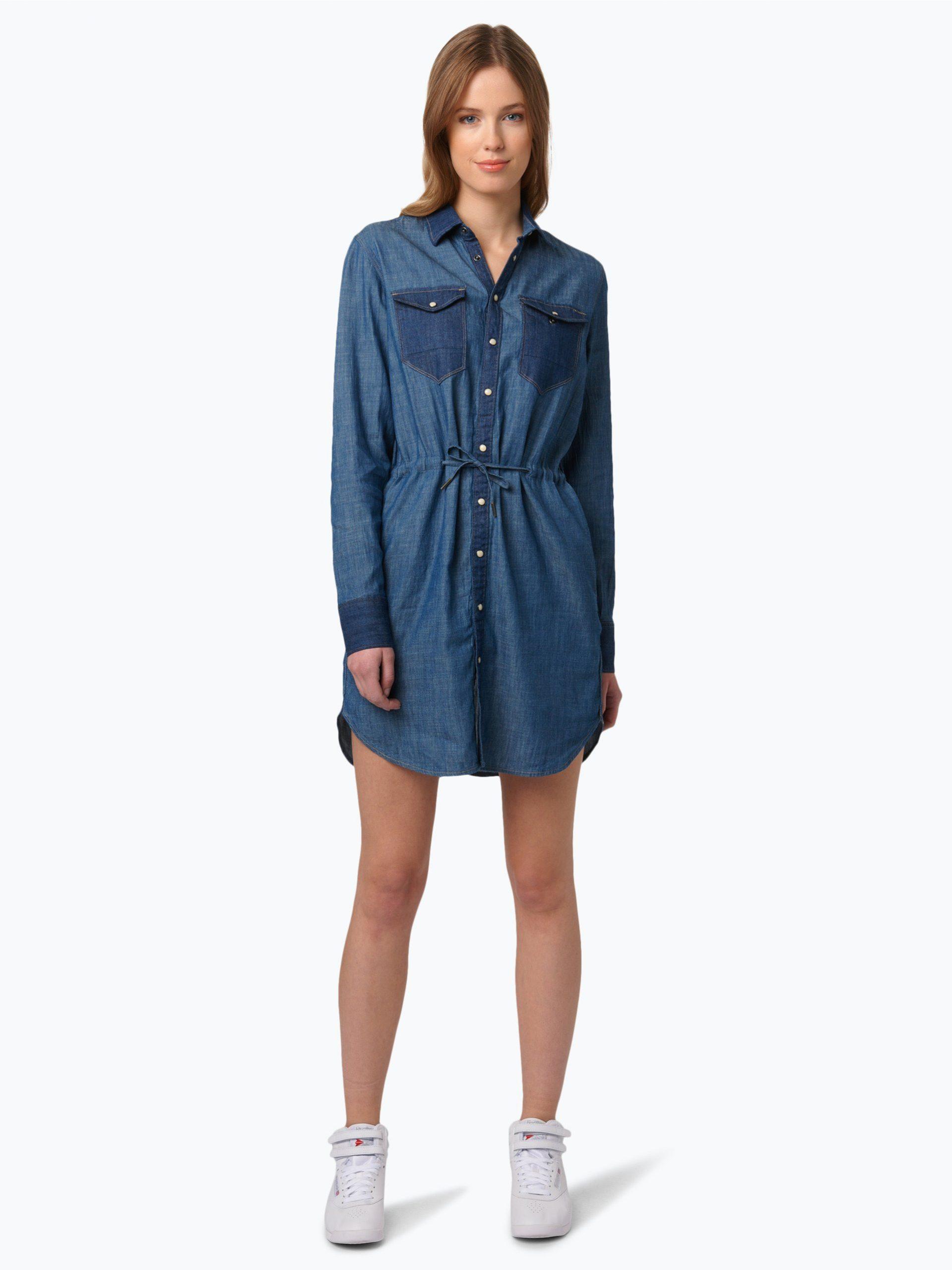Gstar Damen Jeanskleid  Tacoma Online Kaufen  Vangraaf