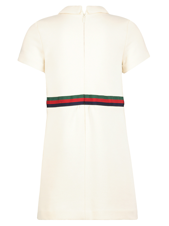 Gucci Kleid Weiß Für Mädchen Nickis