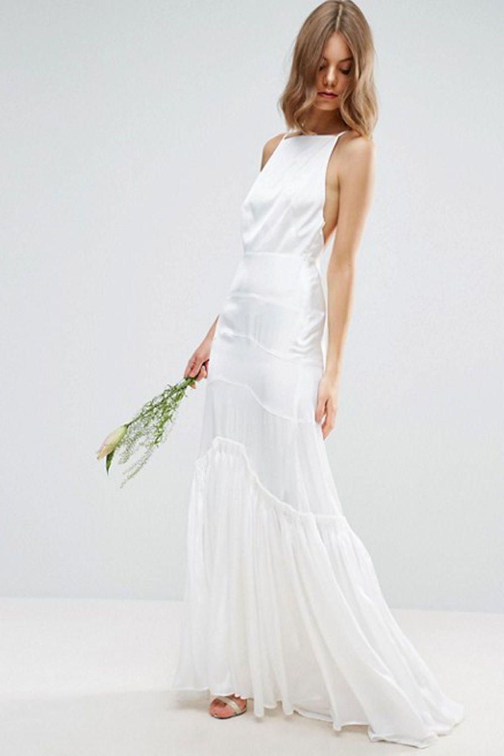 Günstige Brautkleider Heiraten Für Wenig Geld  Kleid