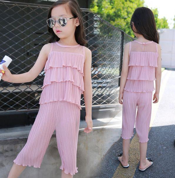 Günstige Neue Marke Mode Sommer Mädchen Kleidung Sets Baby