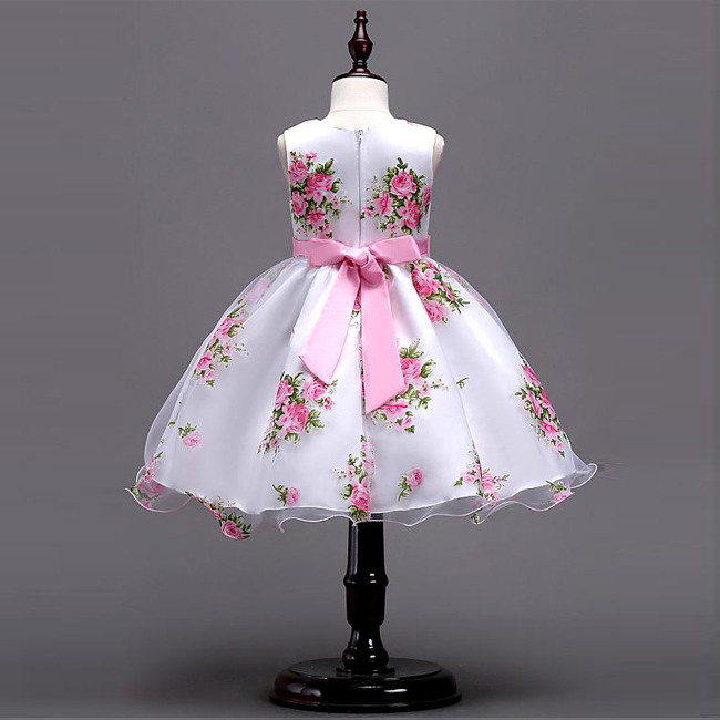 Günstige Preis Modest Schöne Blume Mädchen Baby Kleider