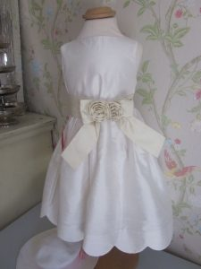 Gymboree Seidenkleid 98 104 Hochzeit Brautjungfer Kleid