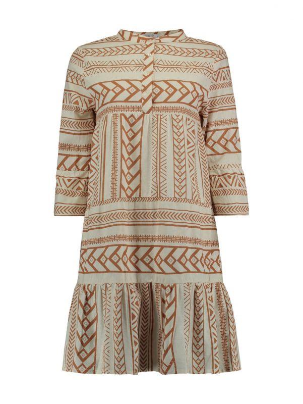 Hailys Kleid Lora  Farbe Braun  Größe Xl