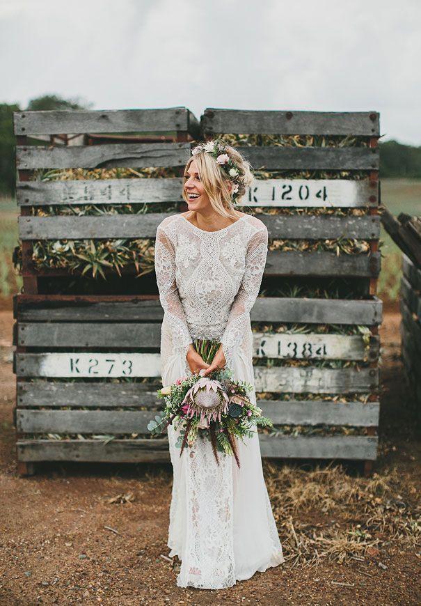 Hallo Mai Grace Loves Lace Braut Blumenkronestil