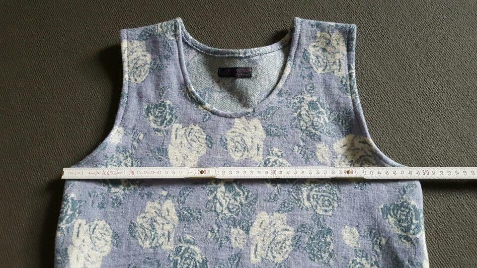 Hängerchen Pullunder Kleid Gr 40 42 Wolle Handmade
