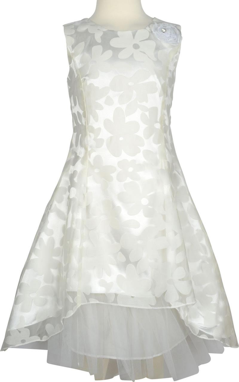 Happy Girls Festive Dress Cream White 56415511 Online At