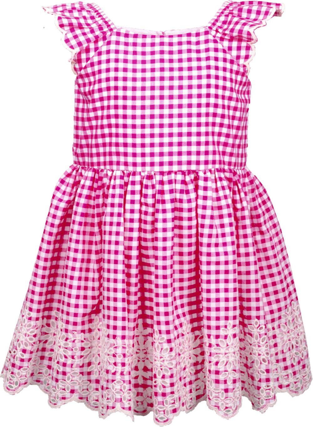 Happy Girls Sommerkleid Karo Pinkweiß 98151437 Bei