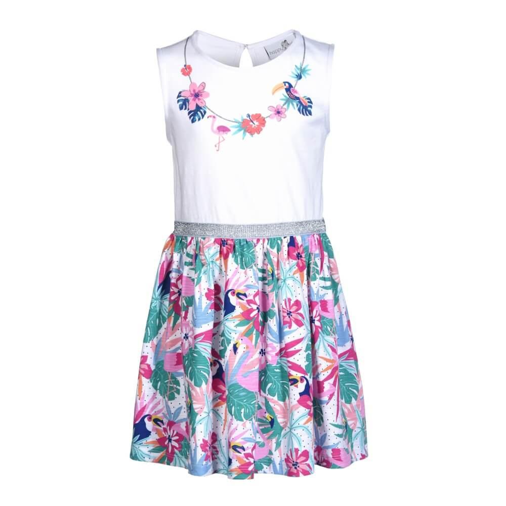 Happy Girls Tropical Kleid  Happy Mit Catwalk Stories