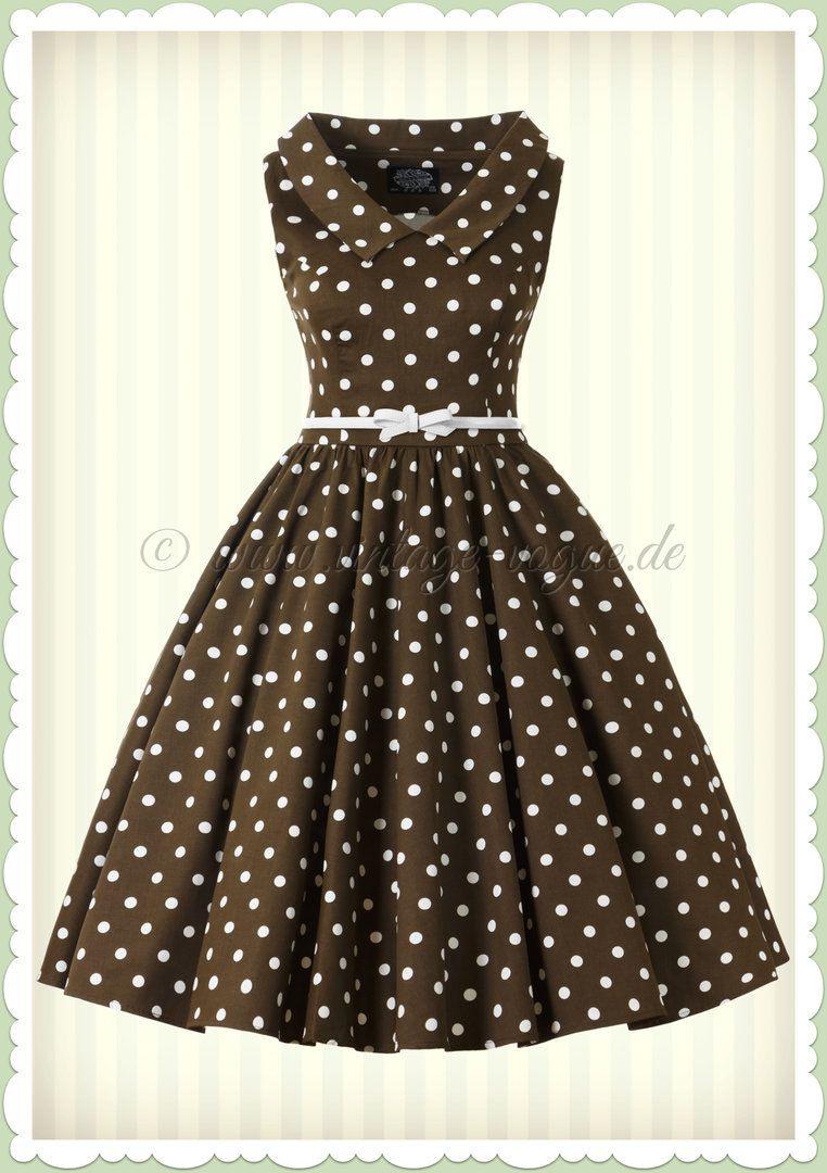 Hearts  Roses 50Er Jahre Punkte Petticoat Kleid
