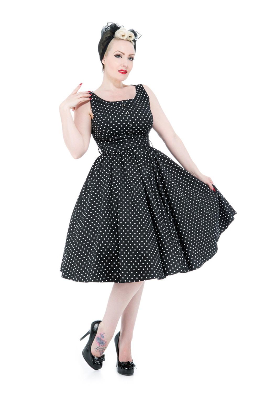 Hearts  Roses 50Er Years Pin Up Polka Dots Petticoat