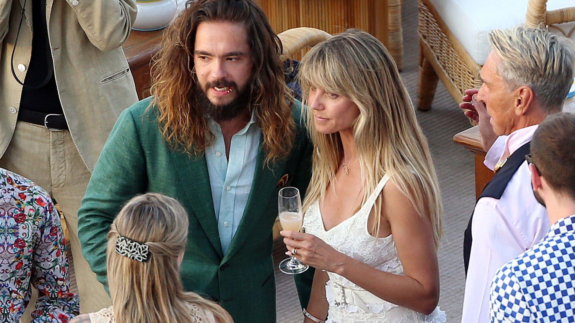 Heidi Klum Hochzeit Kaulitz  Hochzeit Kleid