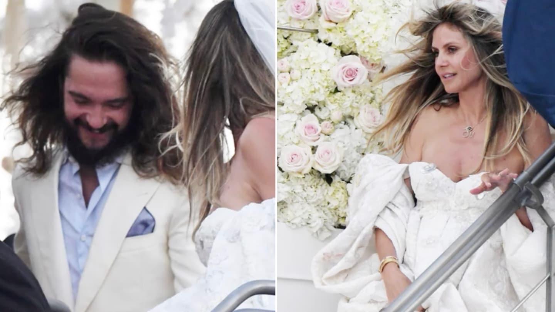 Heidi Klum Hochzeitskleid 2019  Abendkleider  Elegante
