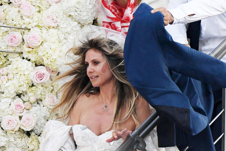 Heidi Klum Ihr Brautkleid Ist Von Valentino  Galade