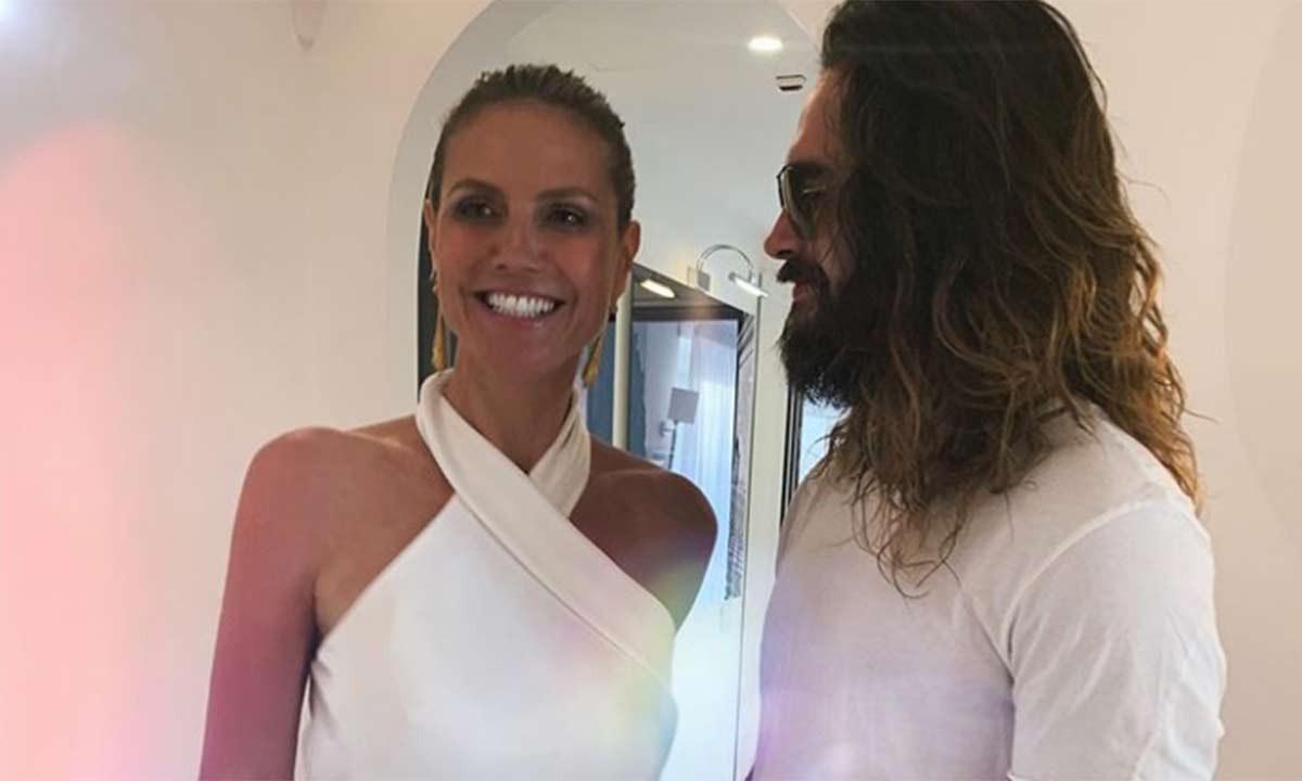 Heidi Klum Shares First Photos From Romantic Capri Wedding