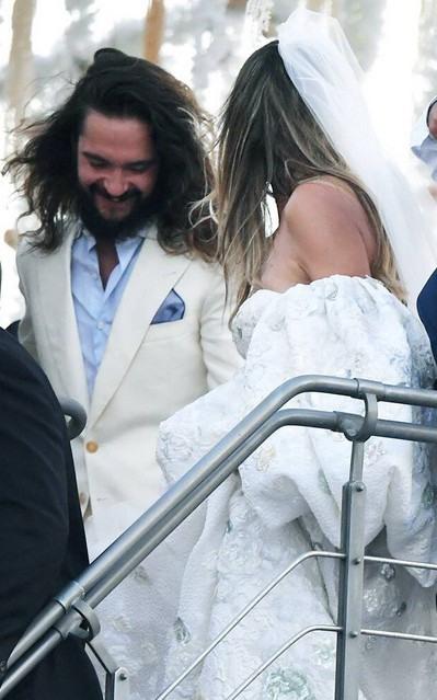 Heidi Klum Tom Kaulitz Wedding Photos  Startattle