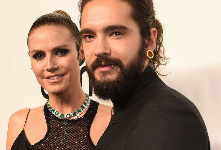 Heidi Klum  Tom Kaulitz Zertanztes Kleid Und Romantik