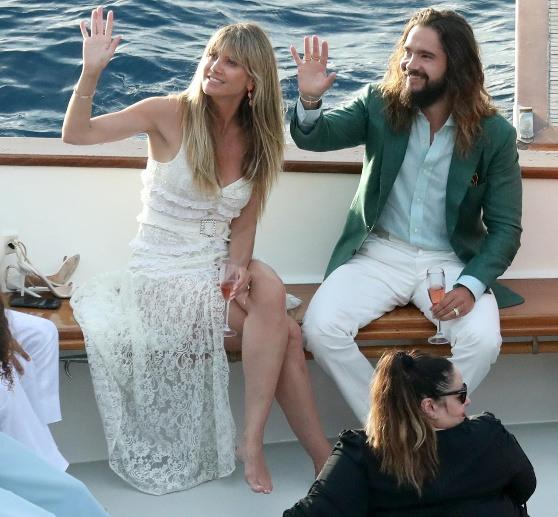Heidi Klum Und Tom Kaulitz Auf Capri Feiern Sie Ihre