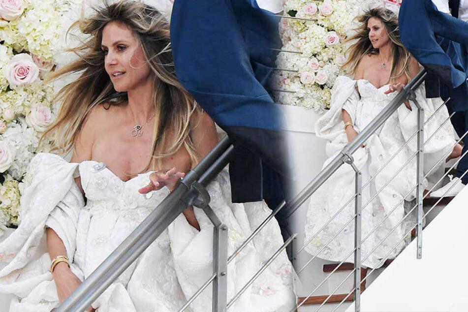 Heidi Klum Und Tom Kaulitz Feiern Hochzeitsmarathon Doch