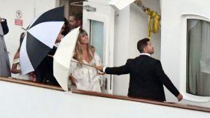 Heidi Klum Verrät Ihr Pompöses Brautkleid War Von