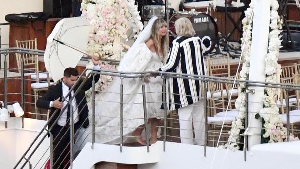 Heidi Klums Hochzeit Auf Capri Das Netz Fand Ihr Kleid