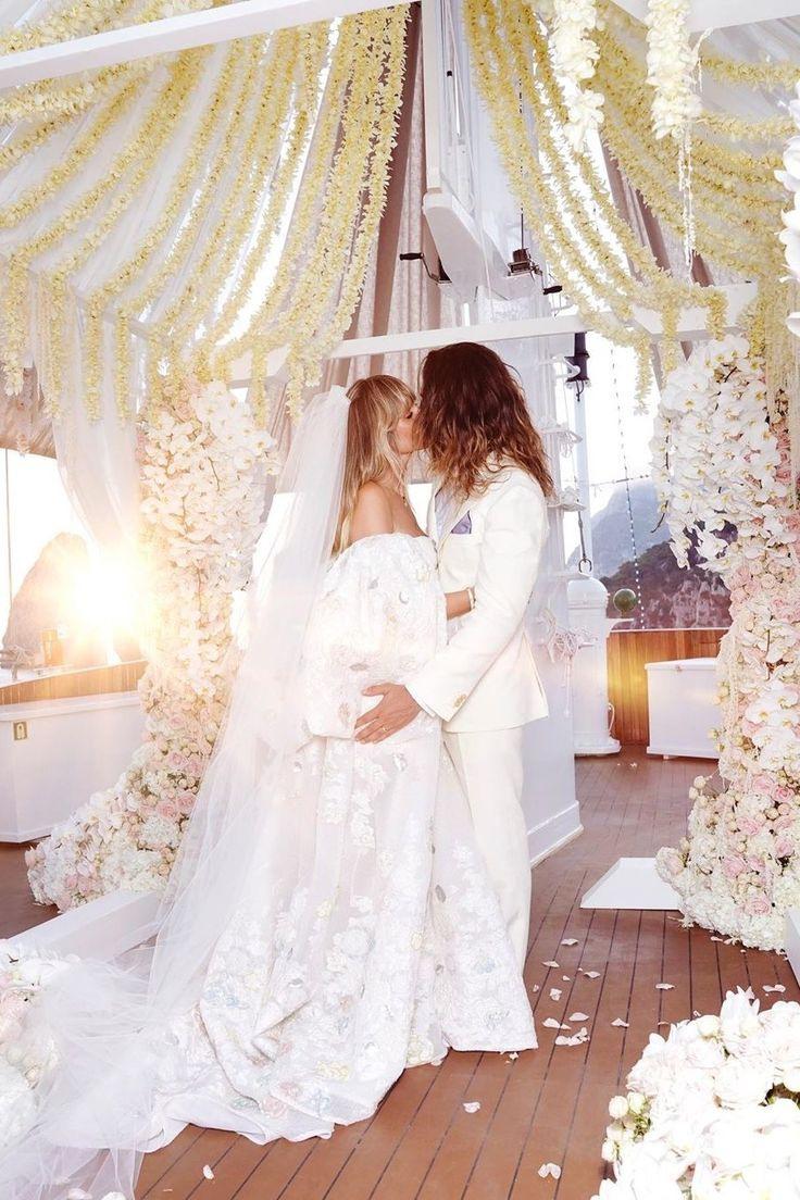 Heidi Klums Hochzeit  Von Diesen Labels Stammten Ihre