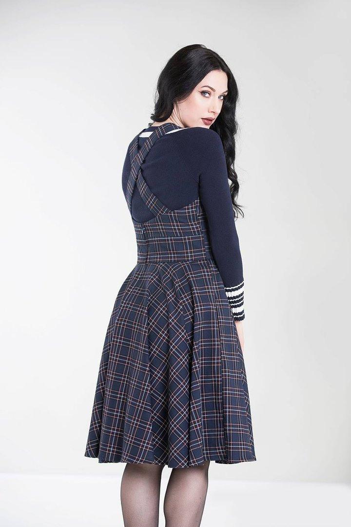 Hell Bunny 50Er Jahre Retro Tartan Kleid  Peebles