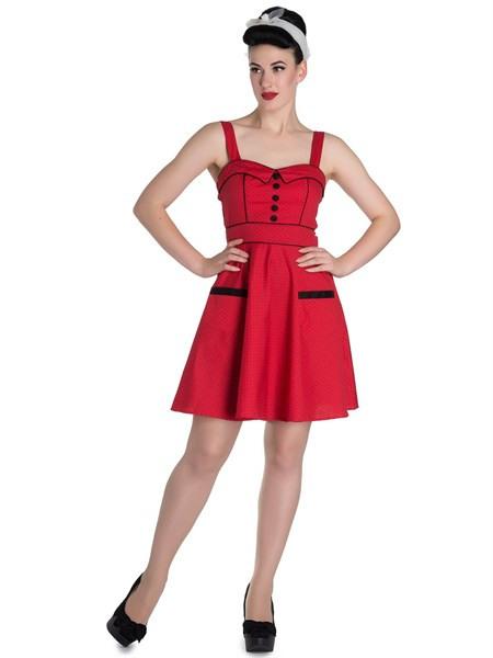 Hell Bunny Kleid Vanity Mini Dress 4557