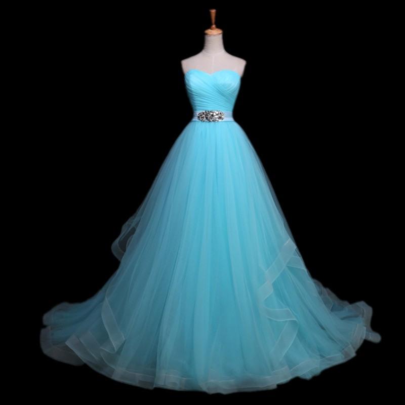 Hellblau Hochzeitskleid Werbeaktionshop Für Werbeaktion
