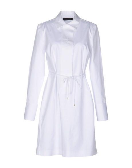 Hemdblusenkleid Weiß