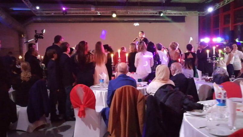 Hennaabend Bevor Eine Türkische Hochzeit Stattfindet