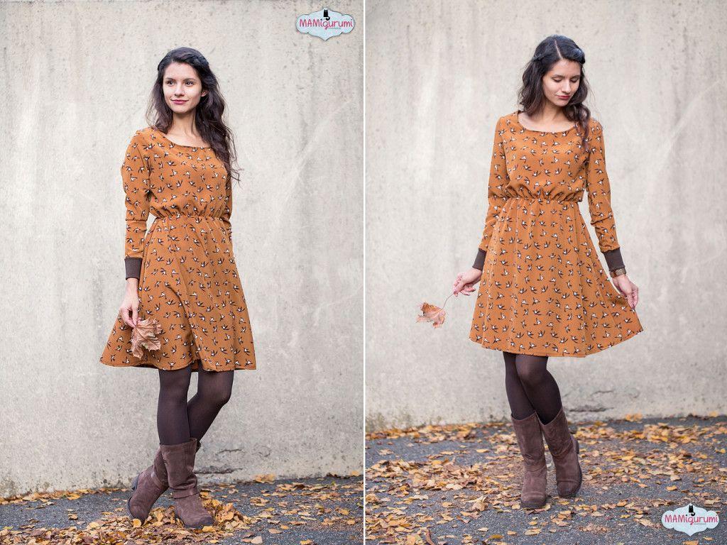 Herbstkleid  Mamigurumi  Herbst Kleid Herbstkleid