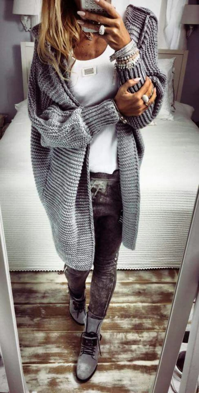 Herbstwintermodeoutfits 2019  Outfit Herbstmode Kleidung