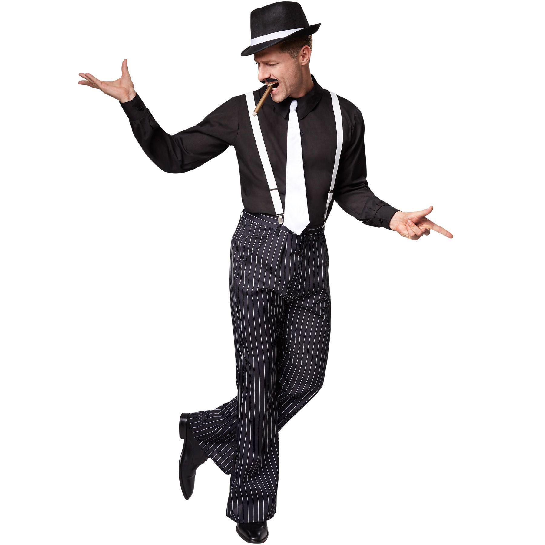 Herrenkostüm Charleston 20Er Jahre Kostüm Mafiakostüm