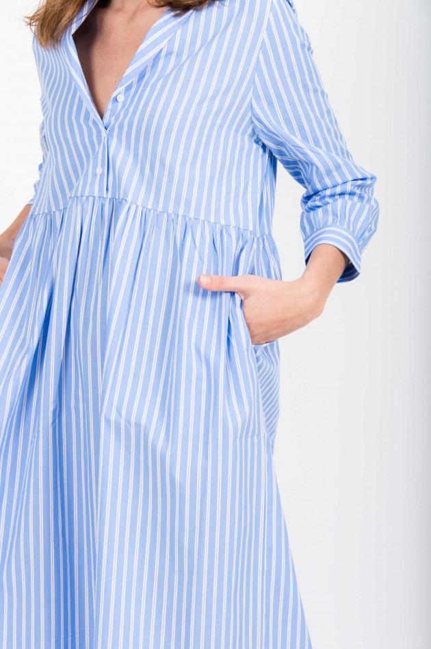 Herzen´s Angelegenheiten Blusenkleid In Blau/Weiß