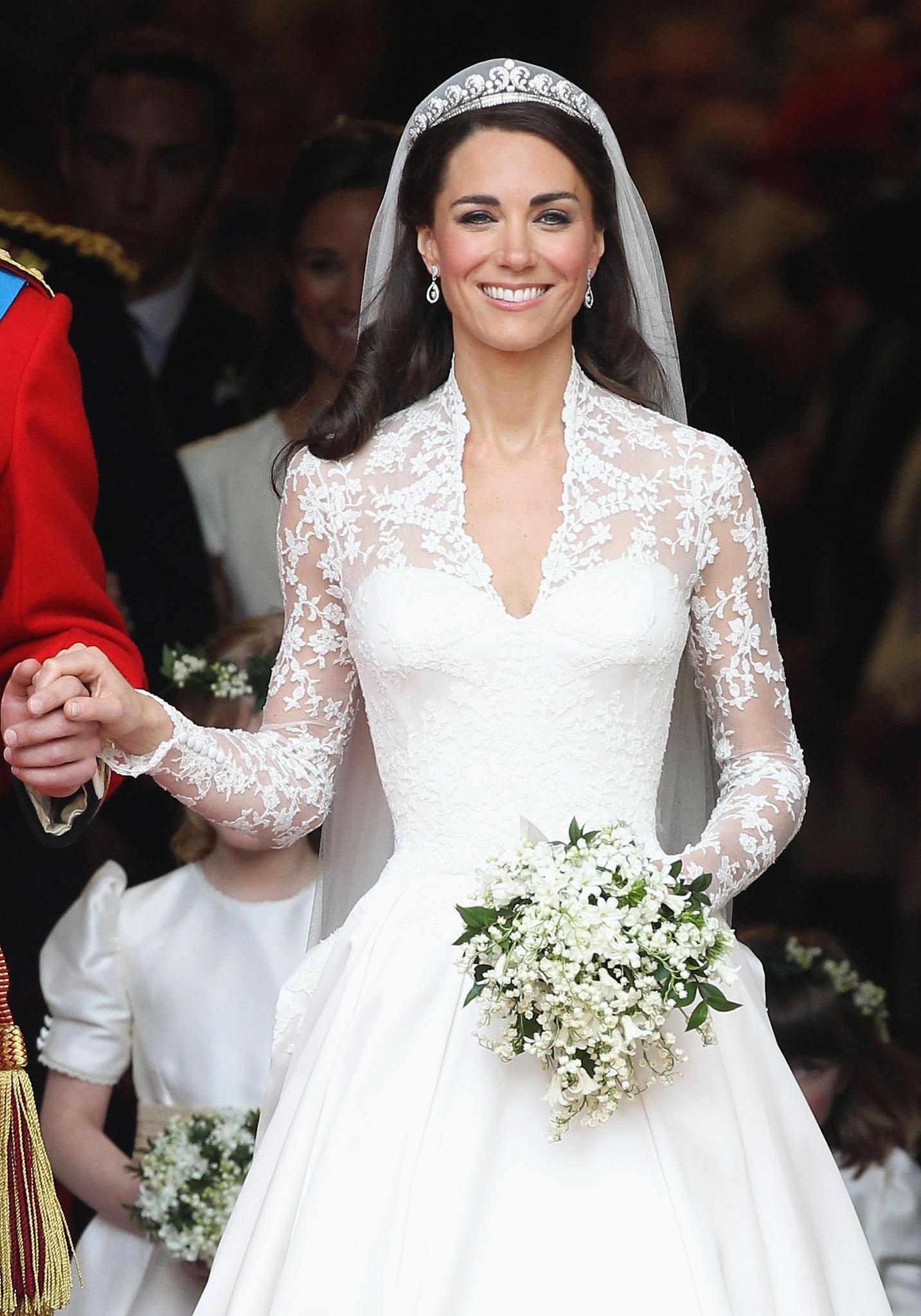 Herzogin Catherine Ihr Brautkleid Wird Von Hm Kopiert